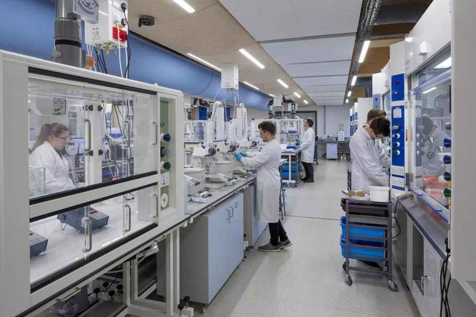 Nottingham green labs rise from ashes News Chemistry World